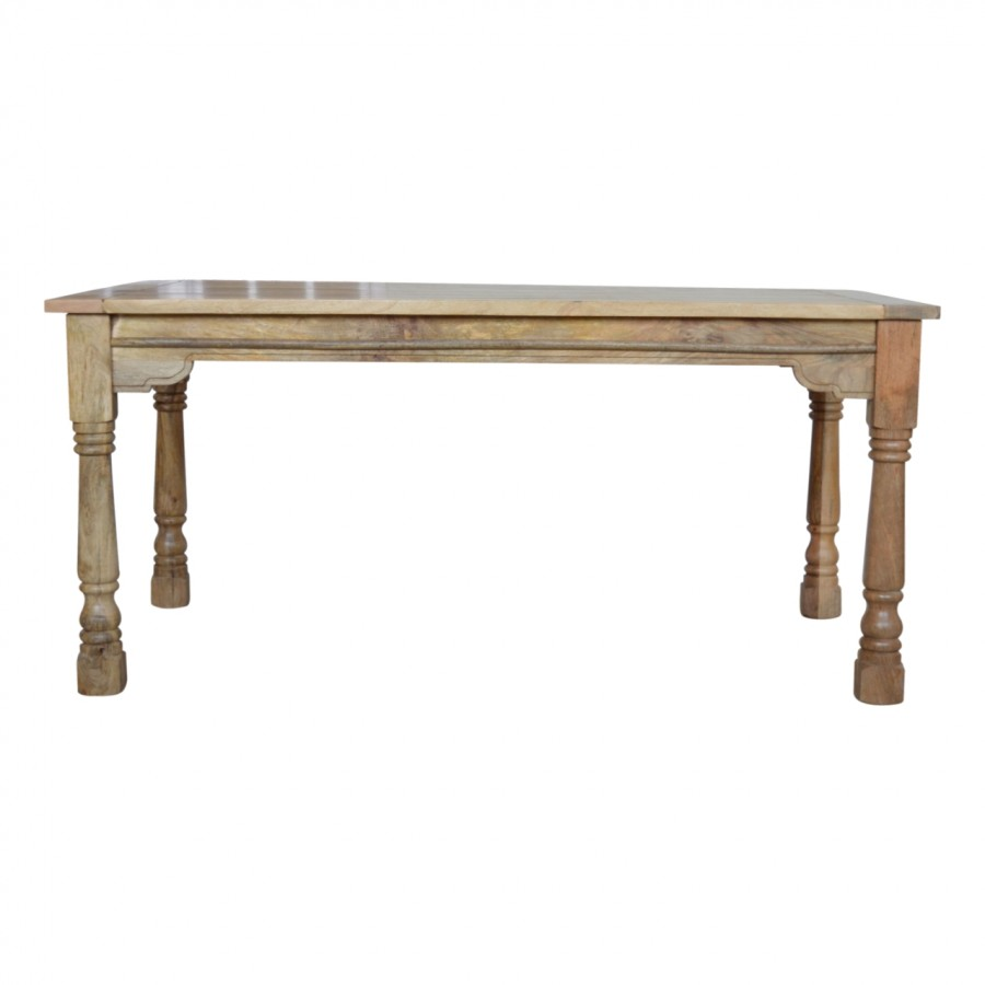 165cm Granary Royale Extending Dining Table 6 Chairs     