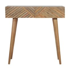 IN1065 - Line Carving Console Table