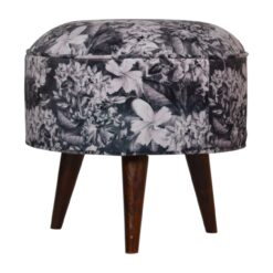 IN1270 - Floral Print Footstool