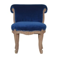 IN1277 - Royal Blue Studded Chair