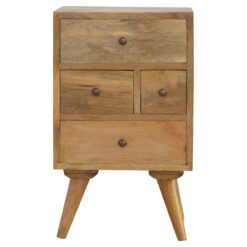 IN148 - Nordic Style 4 Drawer Multi Bedside