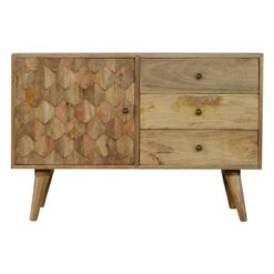 IN354 - Pineapple Carved Sideboard