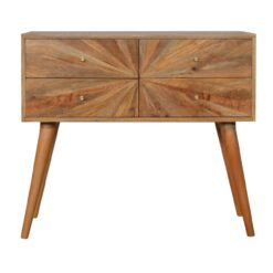 IN748 - Sunrise Patterned Console Table