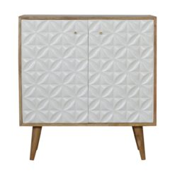 IN947-Diamond Carved Sideboard