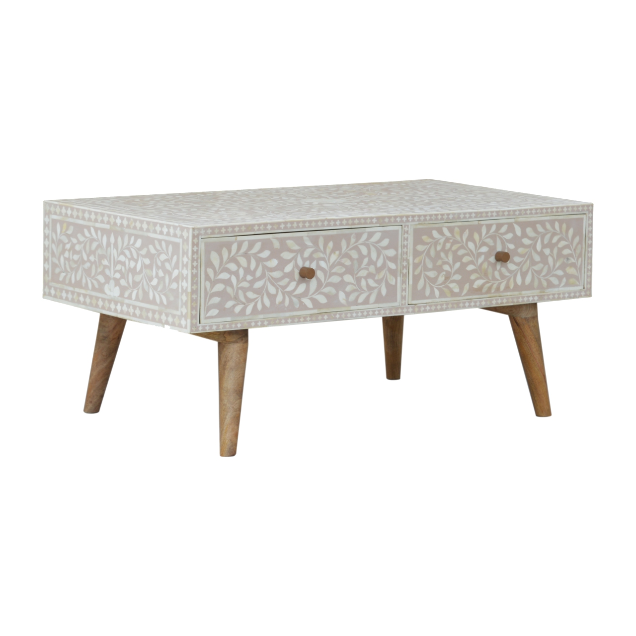Light-Taupe-Floral-Bone-Inlay-Coffee-Table-1