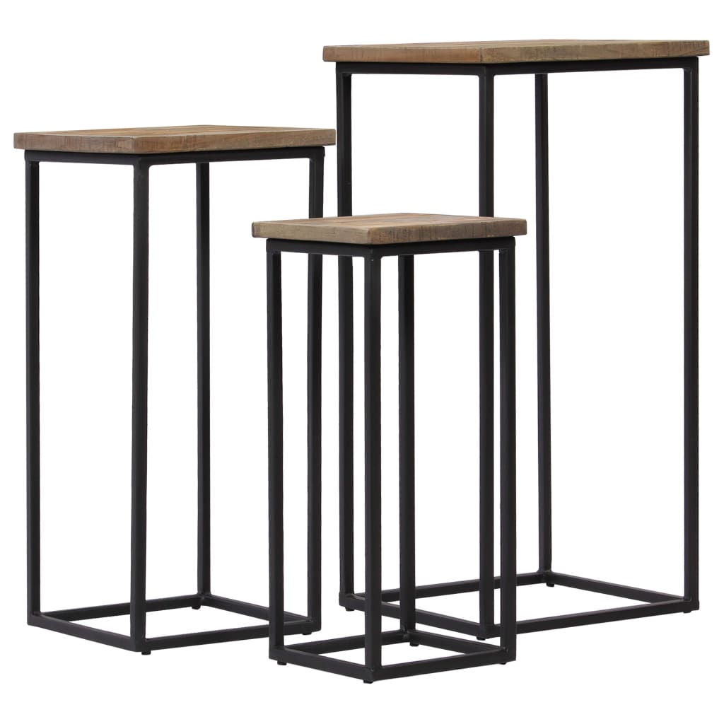 Reclaimed Wood | Nest Of Tables|Plant Stand | 246088