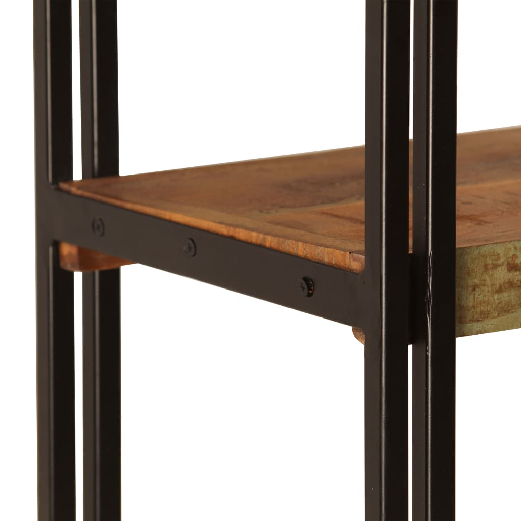 5-Tier Bookcase 180x30x140 cm Solid Reclaimed Wood