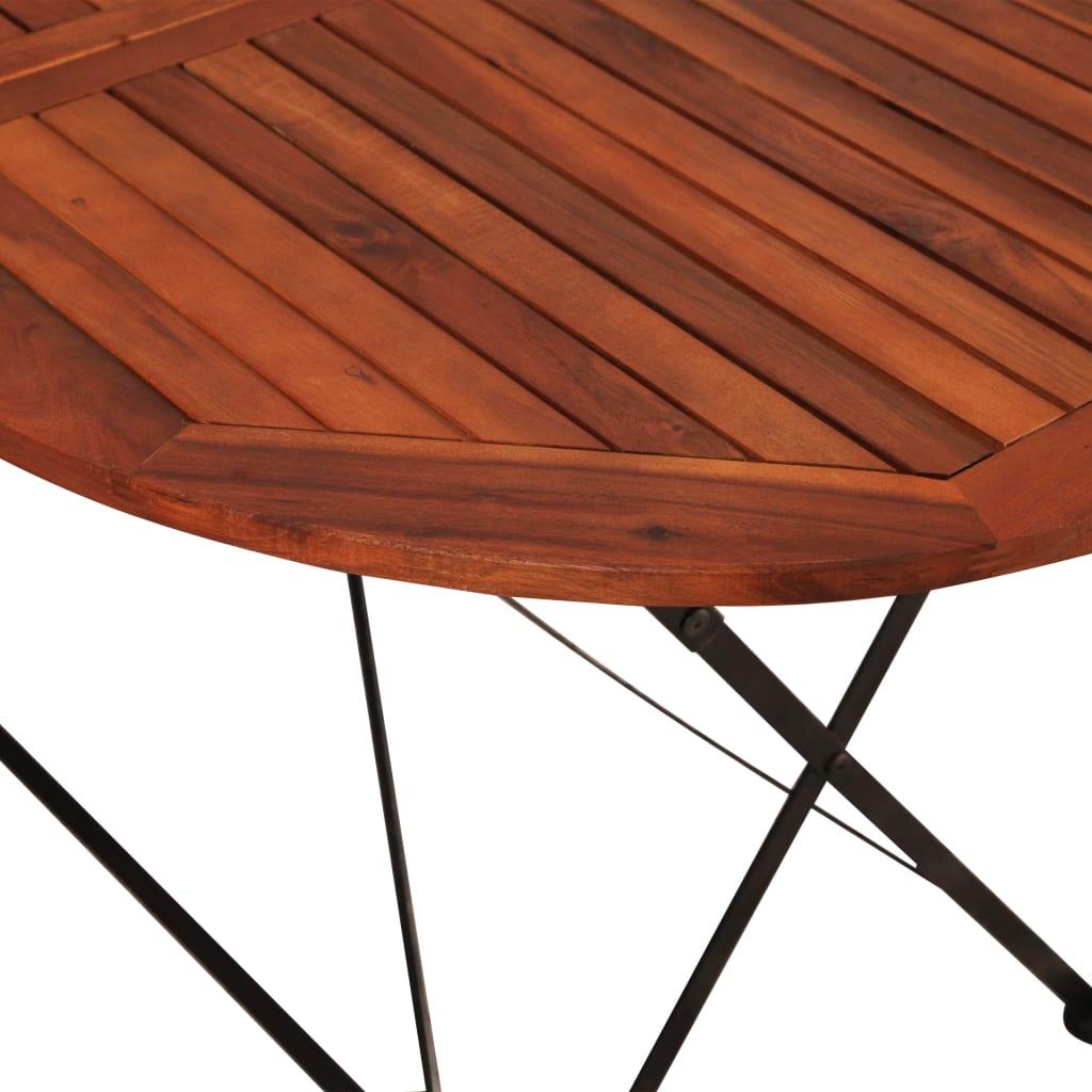 7 Piece Garden Set Solid Acacia Wood