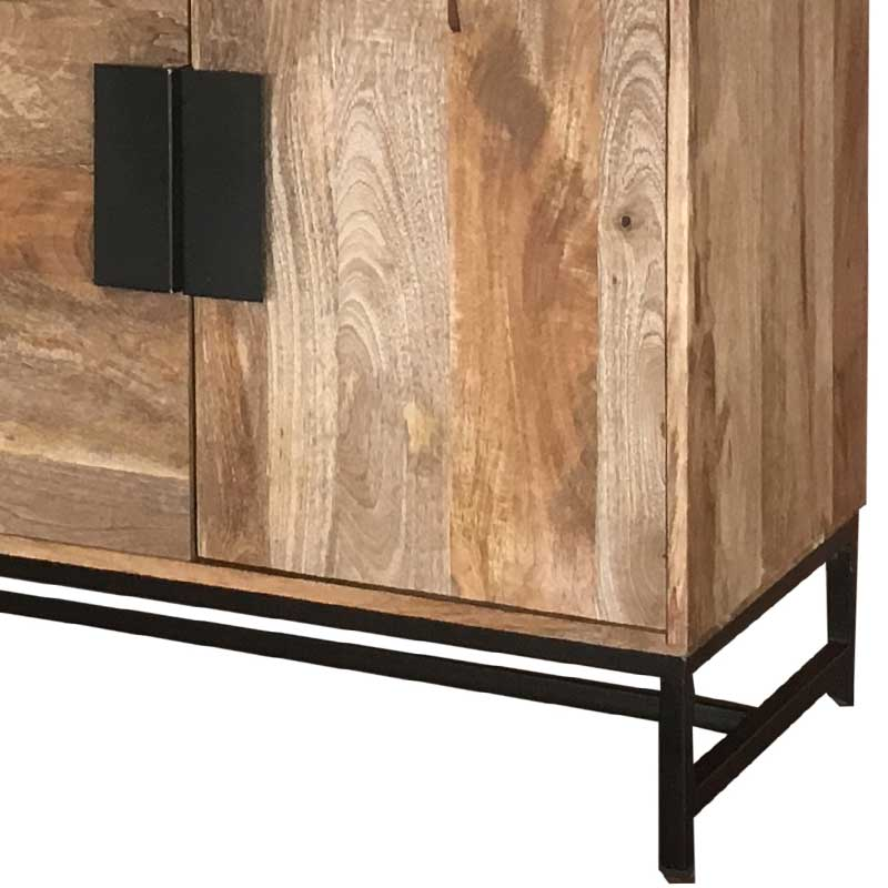 Mango Wood|Wood & Metal | Sideboard | SA-8230