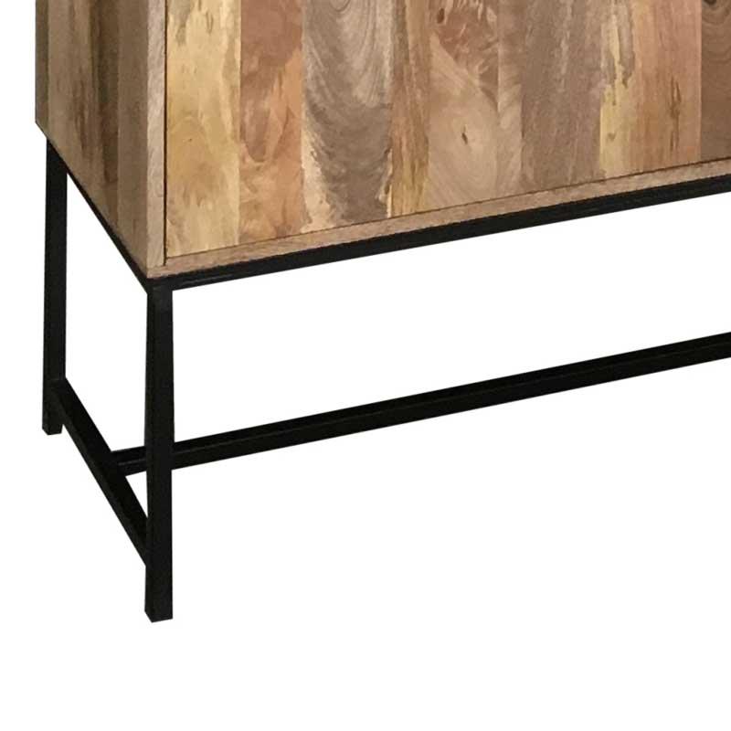 Mango Wood|Wood & Metal |  | SA-8233
