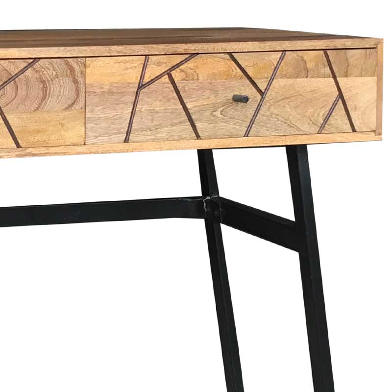 Mango Wood|Wood & Metal | Console Table | AMR-116