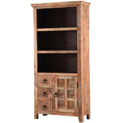 Aravali Large Bookcase | Mango Wood | Furniture Supplies UK