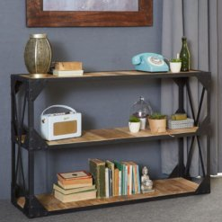 Ascot Console Table/TV Stand/Low Bookcase | Furniture Supplies UK