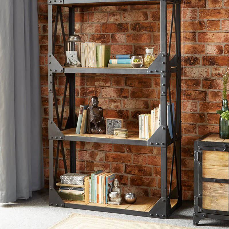 Ascot Large Bookcase | Solid Wood |