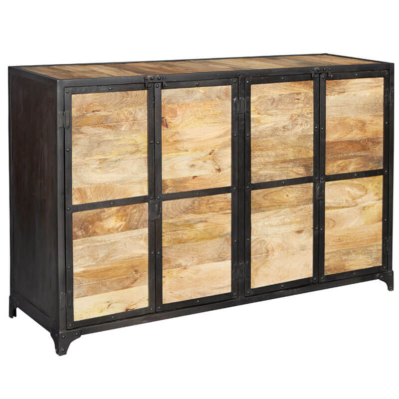 Ascot Large Sideboard | Solid Wood |