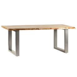 Baltic Live Edge Dining Table 2 M | Furniture Supplies UK