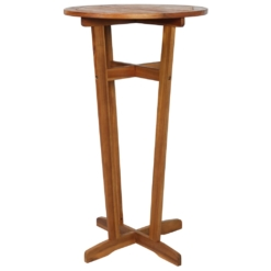 Bar Table Solid Acacia Wood 60x105 cm | Furniture Supplies UK