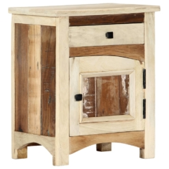 Bedside Cabinet 40x30x50 cm Solid Reclaimed Wood | Furniture Supplies UK