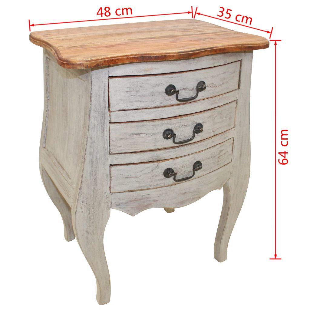 Furniture Supplies UK  Bedside Table