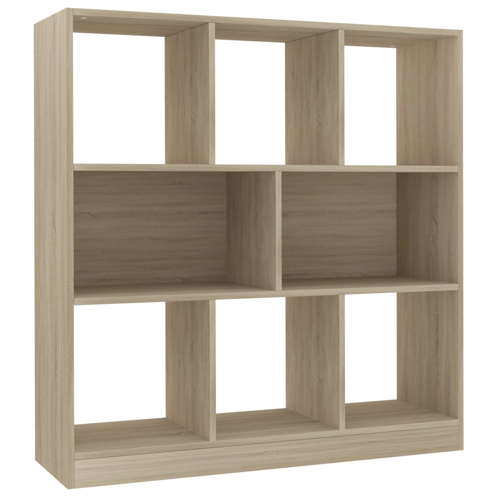 Book Cabinet Sonoma Oak 97.5x29.5x100 cm Chipboard |  | Brown