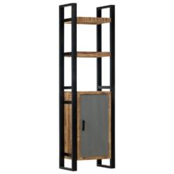 Bookshelf 50x30x170 cm Solid Mango Wood   Furniture Supplies UK