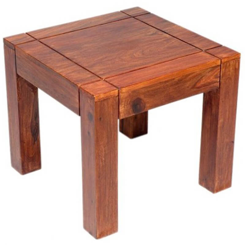 Cadiz Sheesham Wood Lamp Table | Furniture Supplies UK