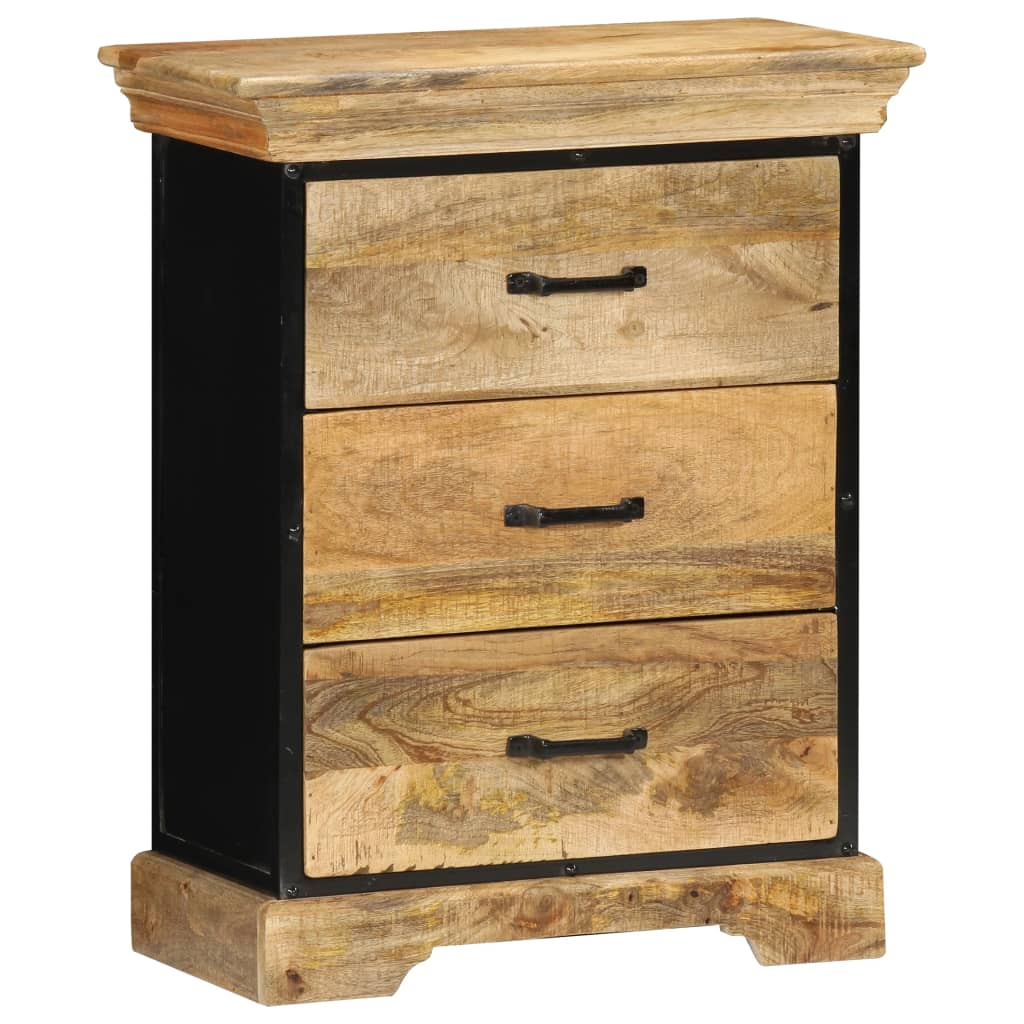 Chest of Drawers 60x30x75 cm Solid Mango Wood | Furniture Supplies UK