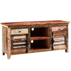 Coastal Large TV Media Credenza | Furniture Supplies UK