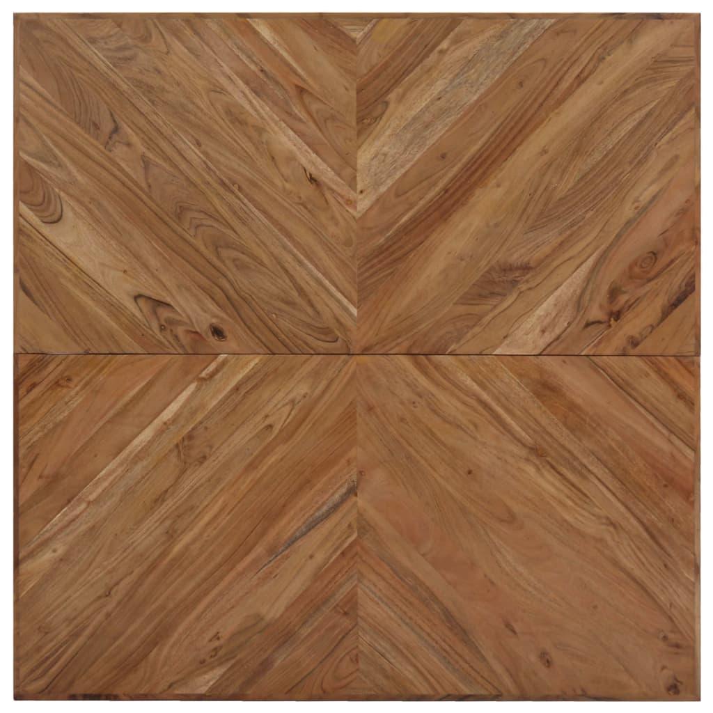 Coffee Table 110x110x36 cm Solid Acacia Wood |  | Brown