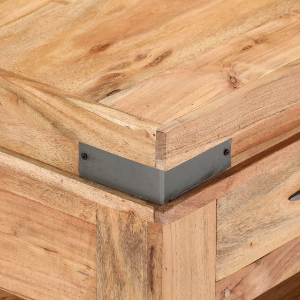 Coffee Table 110x55x45 cm Solid Acacia Wood |  | Brown