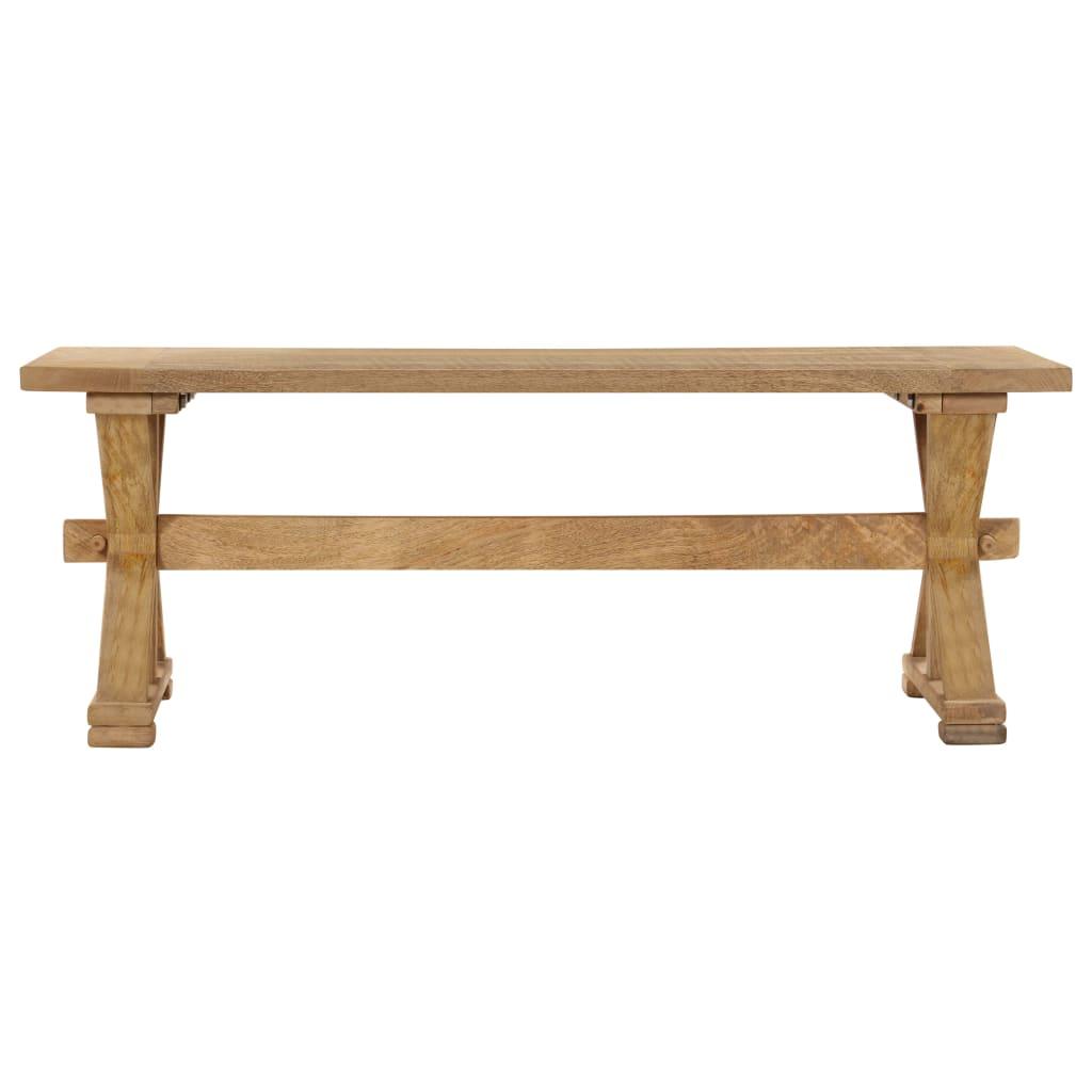 Coffee Table 110x60x40 cm Solid Mango Wood      Brown