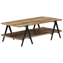 Coffee Table 115x60x40 cm Solid Reclaimed Wood | Furniture Supplies UK