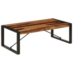 Coffee Table 120x60x40 cm Solid Sheesham Wood | Furniture Supplies UK