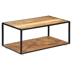Coffee Table 90x50x40 cm Solid Reclaimed Wood | Furniture Supplies UK