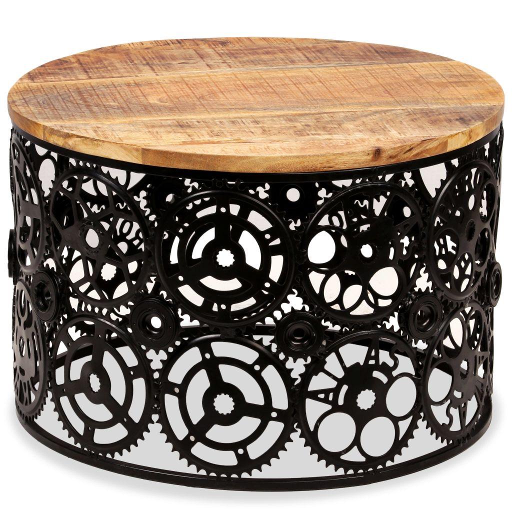 Coffee Table Solid Mango Wood 60x40 cm