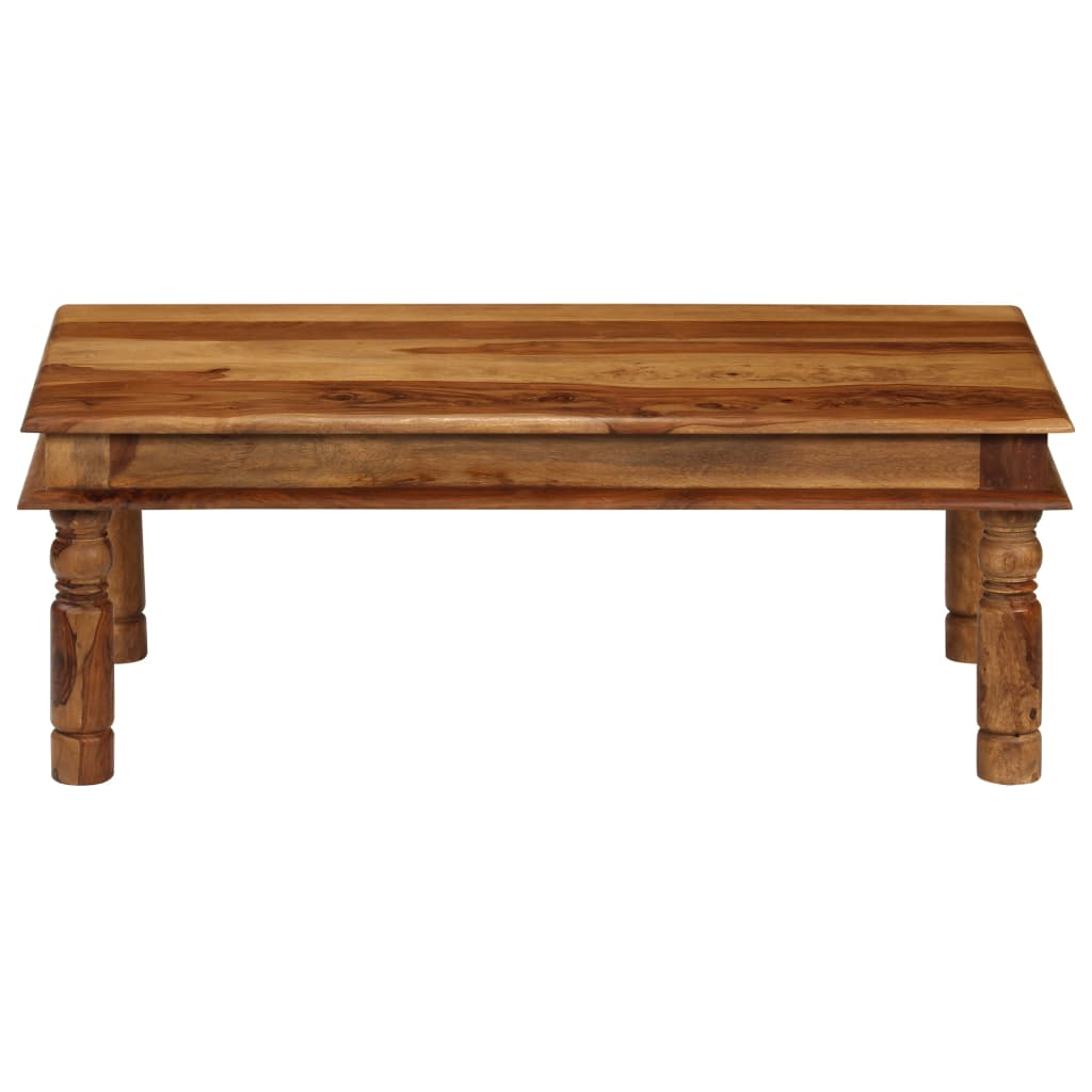 Coffee Table Solid Sheesham Wood 110x60x40 cm |  | Brown