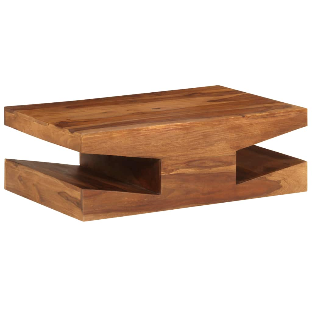 Coffee Table Solid Sheesham Wood 90x60x30 cm | Furniture Supplies UK