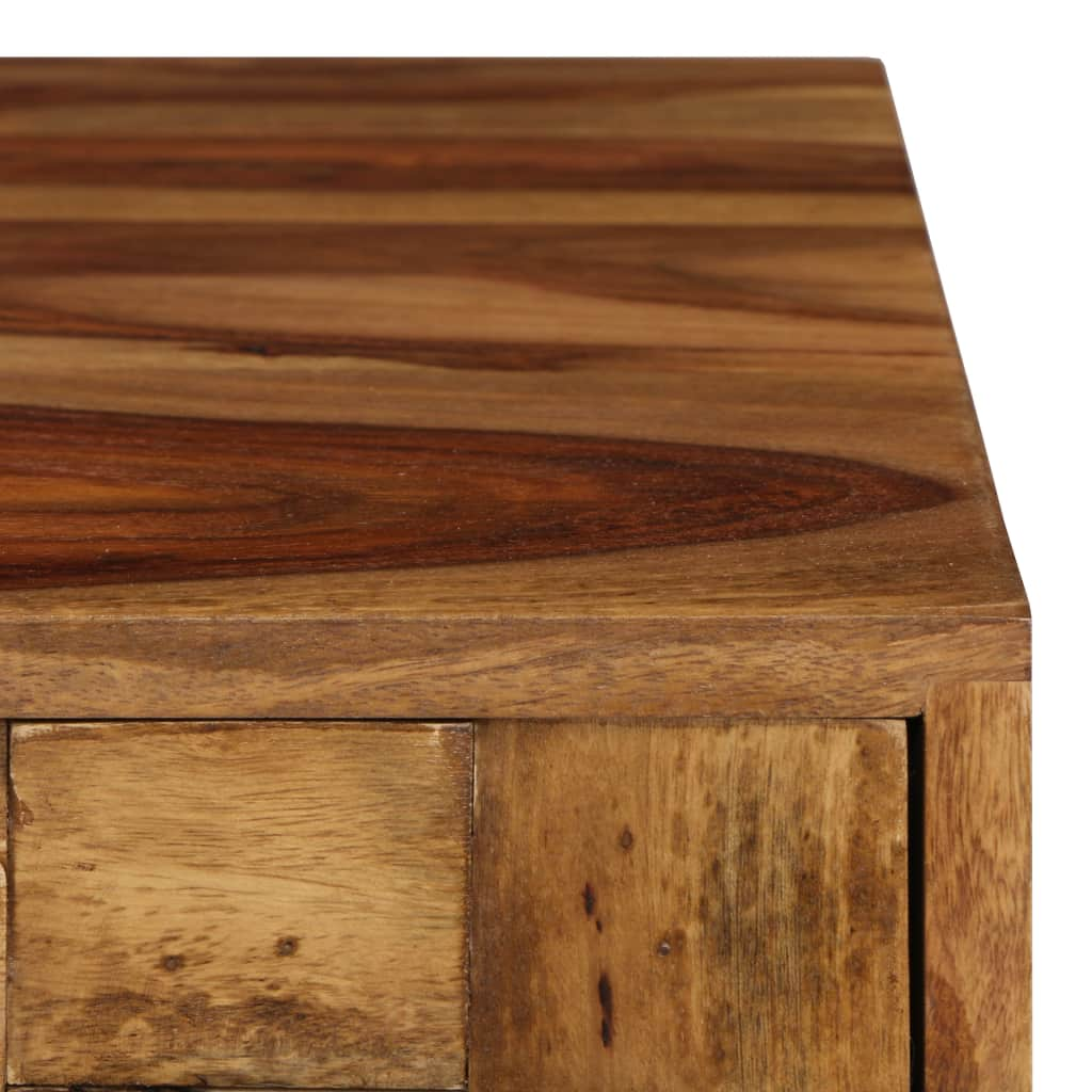 Coffee Table Solid Sheesham Wood with Honey Finish 110x50x37 cm