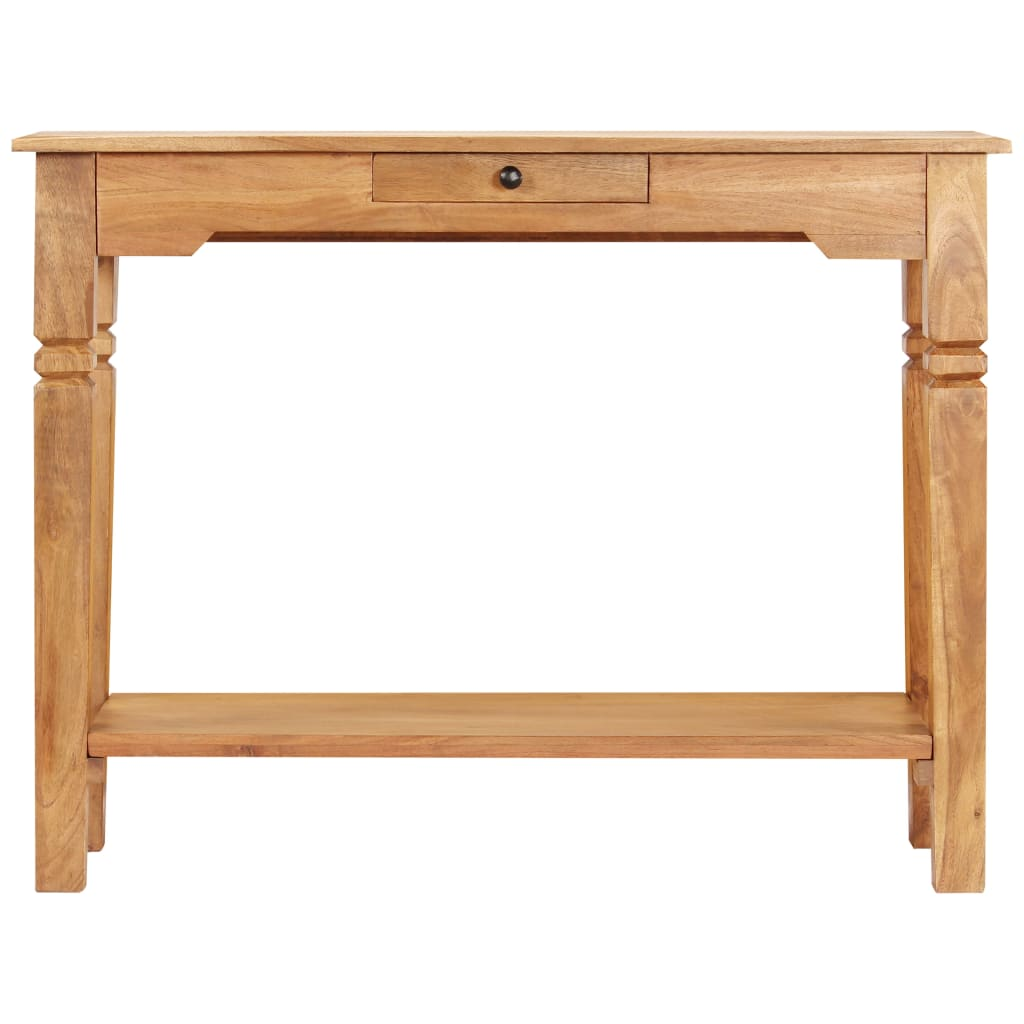 Console Table 100x40x76 cm Solid Acacia Wood |  | Brown