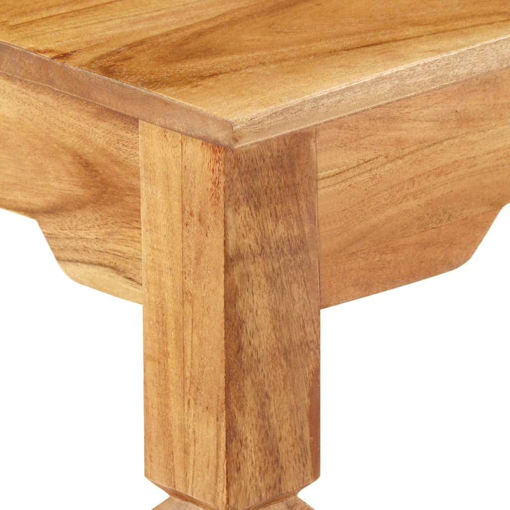 Console Table 100x40x76 cm Solid Acacia Wood