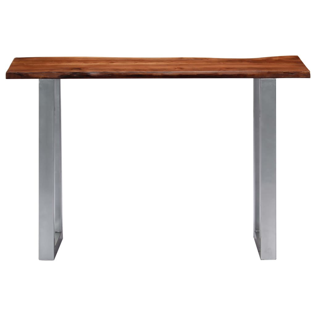 Console Table 115x35x76 cm Solid Aacia Wood and Iron |  | Brown