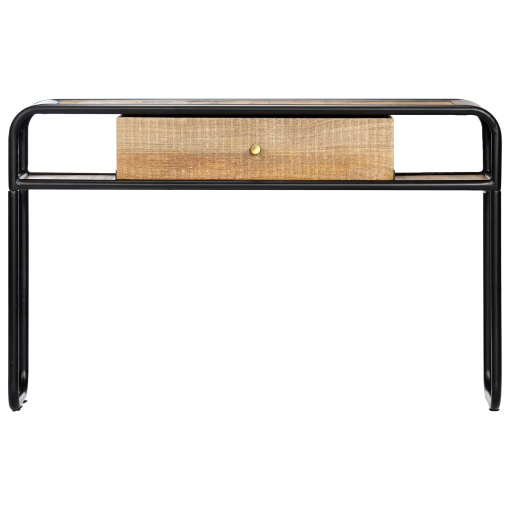 Console Table 118x30x75 cm Solid Mango Wood |  | Brown