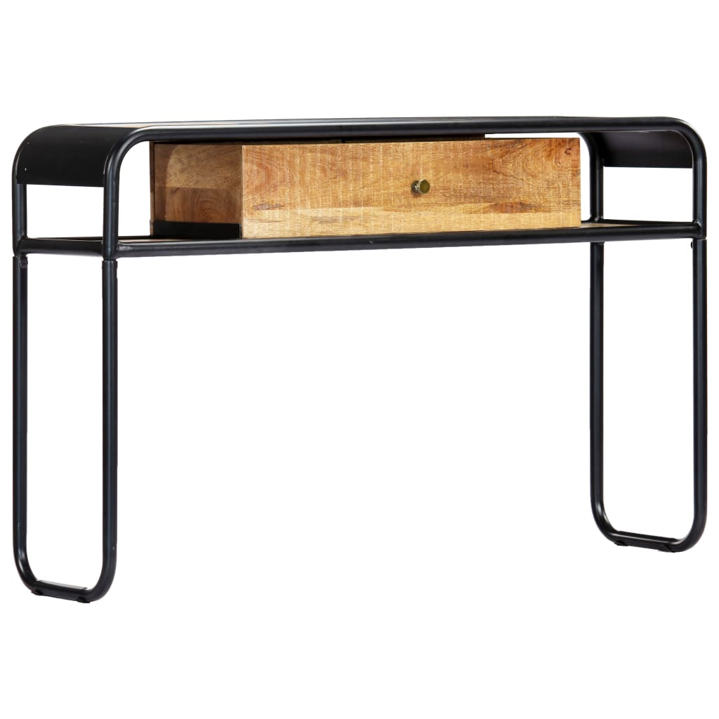 Console Table 118x30x75 cm Solid Mango Wood | Furniture Supplies UK