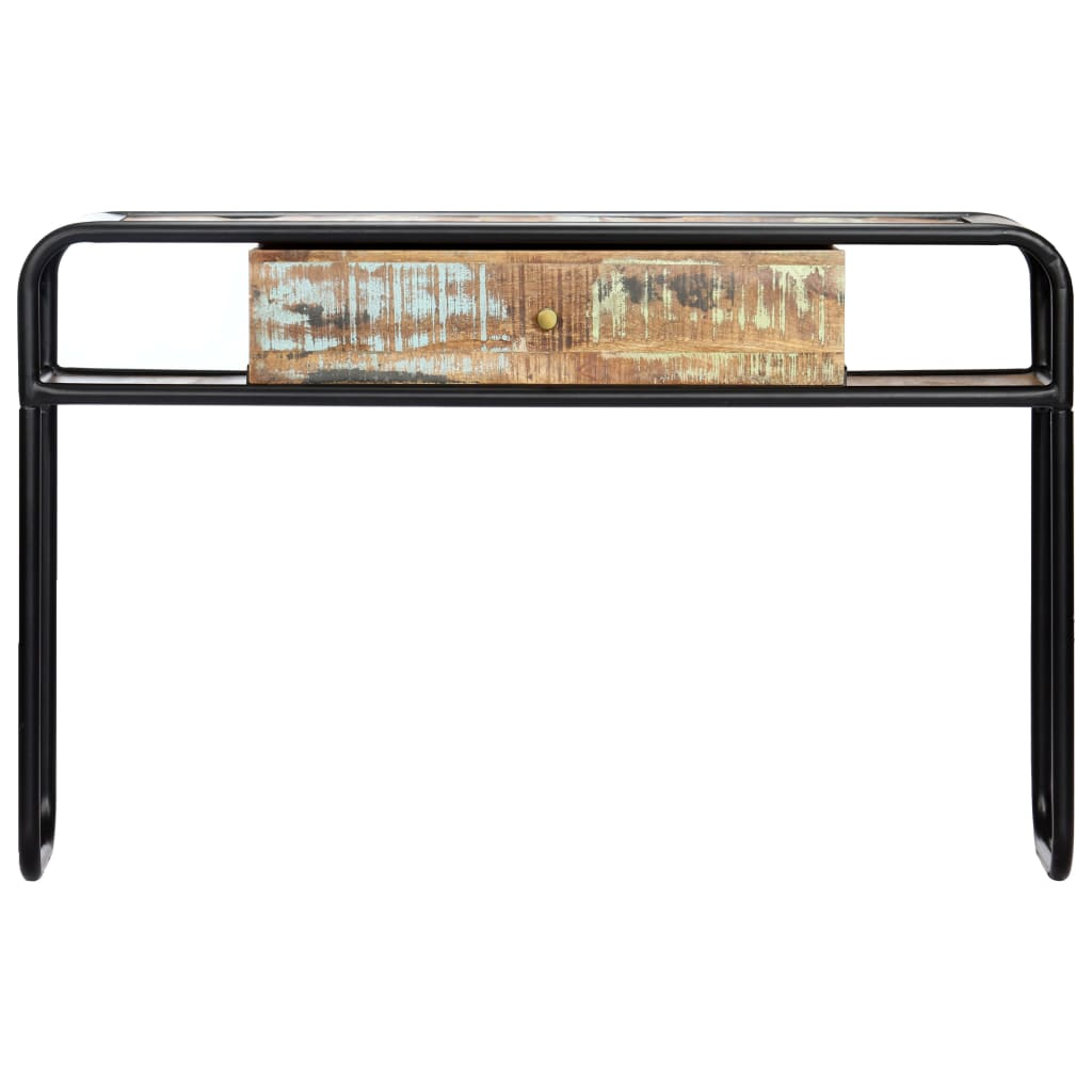 Console Table 118x30x75 cm Solid Reclaimed Wood |  | Brown