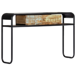 Console Table 118x30x75 cm Solid Reclaimed Wood | Furniture Supplies UK