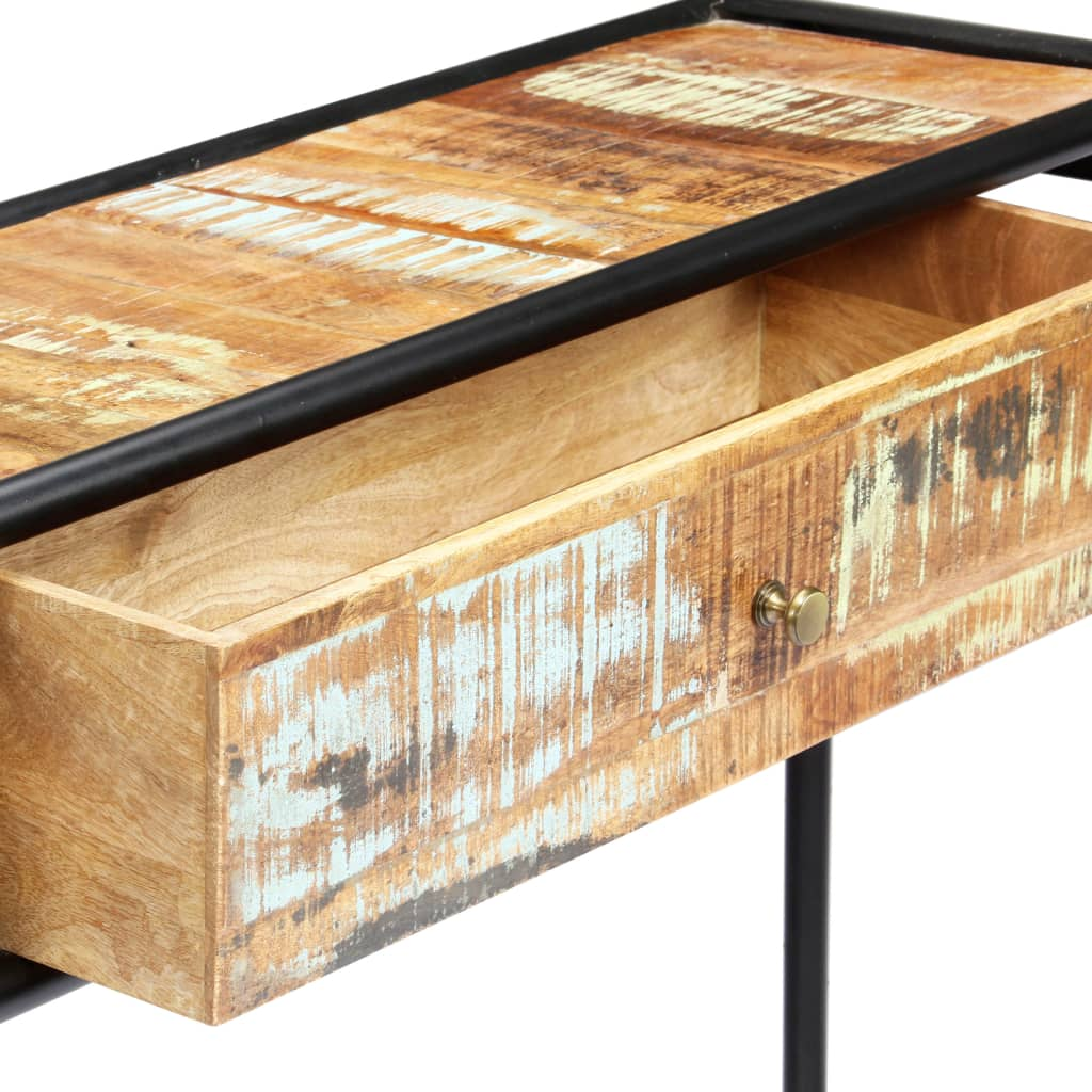 Console Table 118x30x75 cm Solid Reclaimed Wood