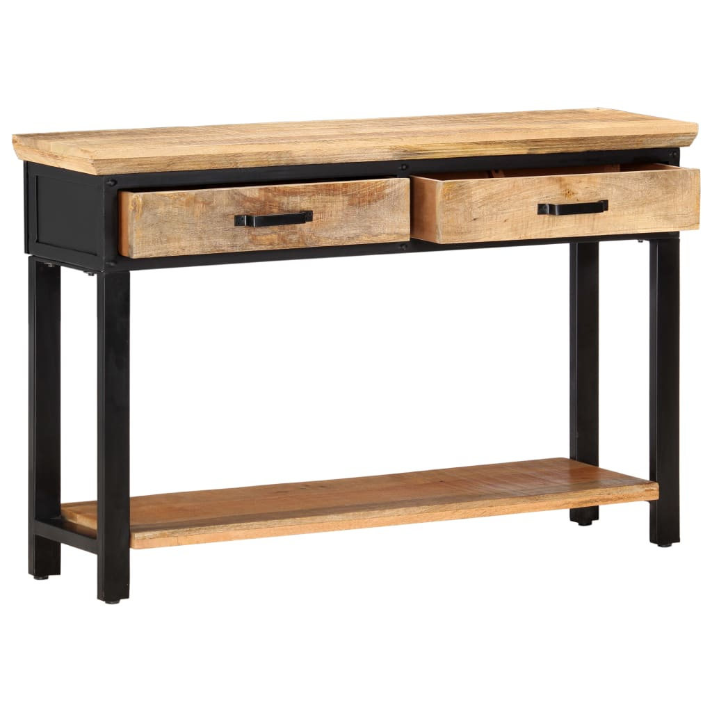 Console Table 120x30x76 cm Solid Mango Wood