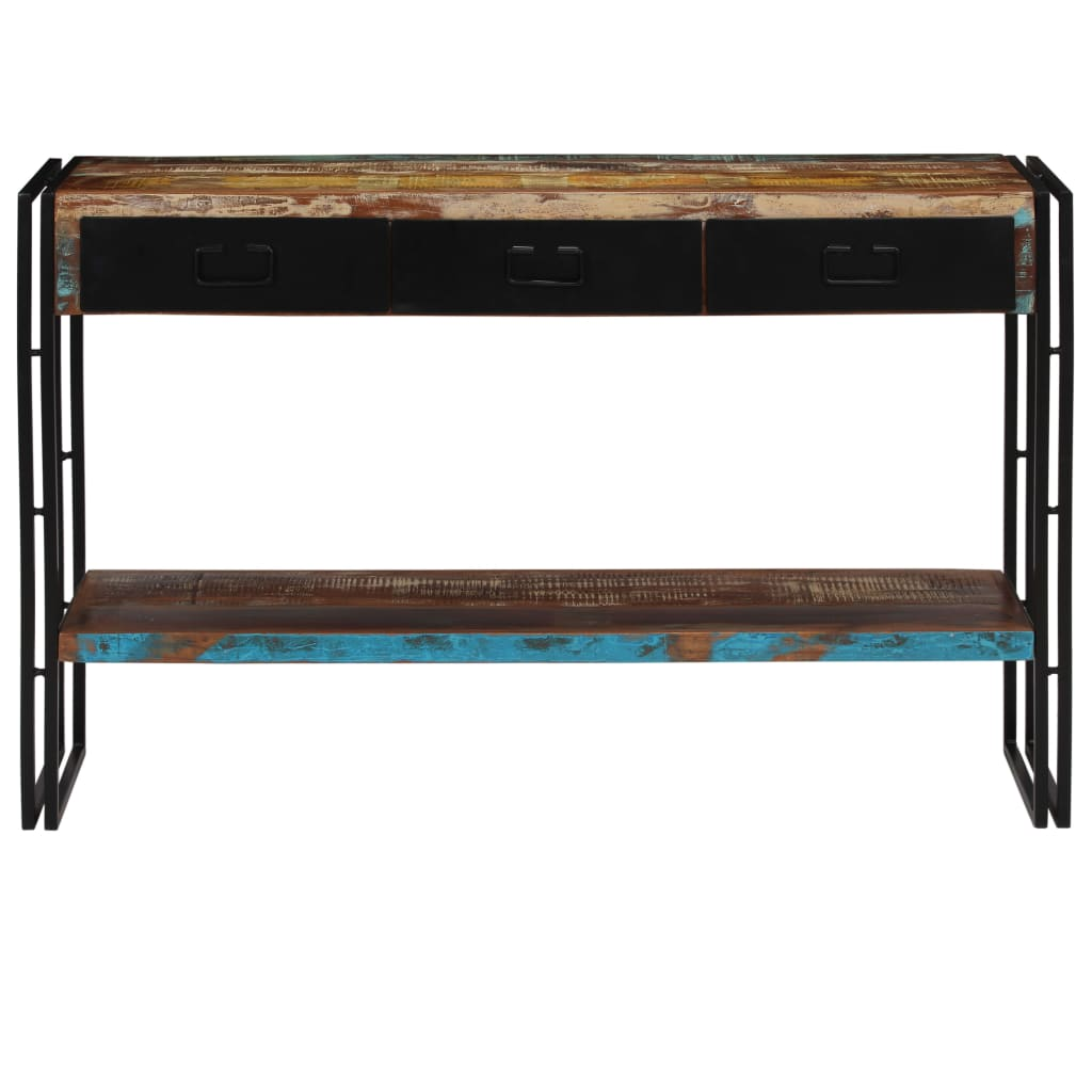 Console Table Solid Reclaimed Wood 120x30x76 cm |  | Brown