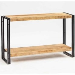 Cosmo Industrial Console Table | Furniture Supplies UK