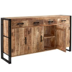 Cosmo Industrial Extra Large Sideboard | Furniture Supplies UK
